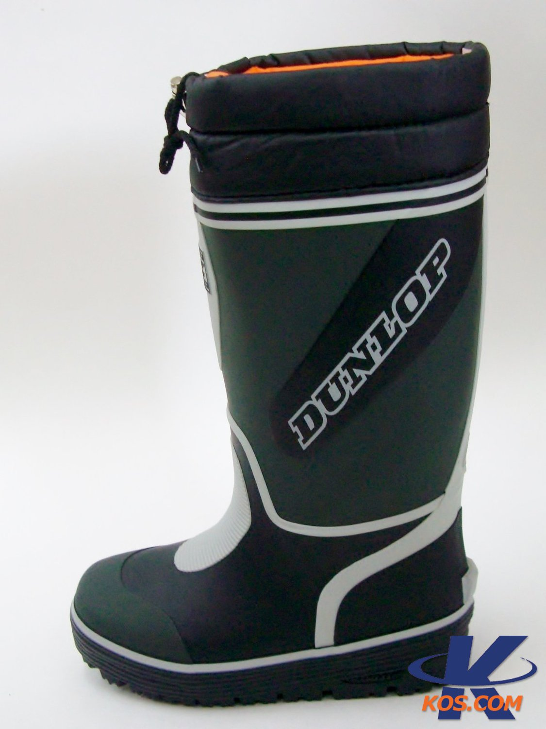 Dunlop Dolman G 290 Rubber Boots With Socks Winter Boots