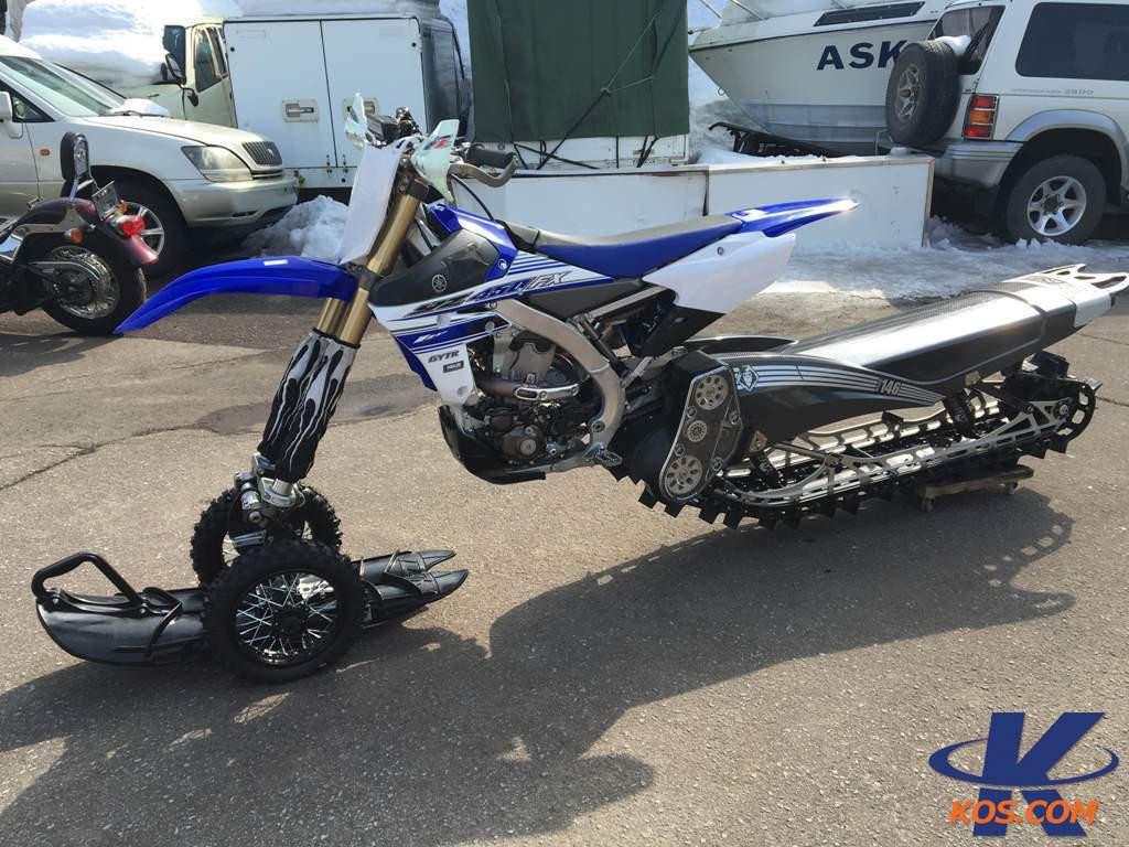 Yamaha Yz450fx 2016 Snowbike Yeti